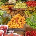 fruit and veg bazaar